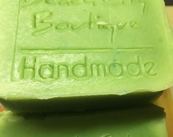 Cucumber Melon Soap – Cold Process Soap – Vegan Soap – Phthalate Free – Scented Soap – Sensitive Skin Soap