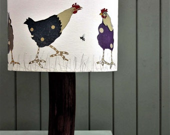 The Pecking Order Hen Lampshade