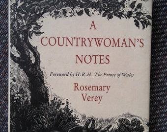 Vintage Botanical Book A Countrywoman's Notes By  Rosemary Verey