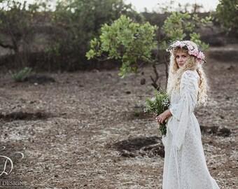 Bohemian lace dress   Etsy
