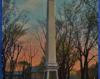 Postcard Soldier's Monument St Paul Minnesota Antique Divided Back Used 1923
