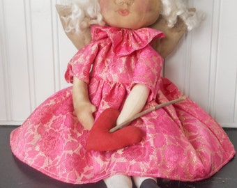Primitive Cupid Angel Doll