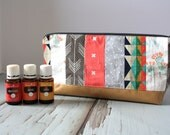 Essential Oil Pouch, Oily Pouch, Essential Oil Storage - Serape