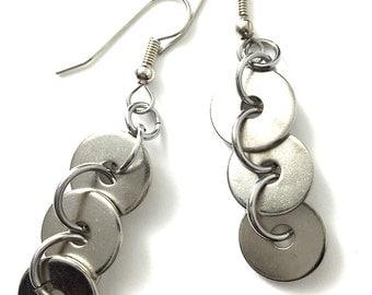 Dangle Drop Earring Geometric Hardware Jewelry Industrial Hardware