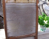 """WASHBOARD CABINET-REcycled from a RARE, anTiQue All MeTaL""""Soap Saver"""" Washboard-into a WaLL Cabinet-Great MeDicine CaBiNeT or Spice Cupboard"""