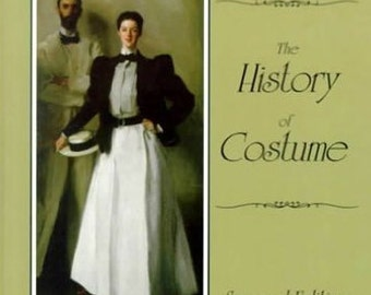 The History of Costume, Payne, 2nd ed, Fashion Book, Costume Book, Costume History