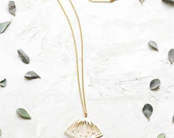 On Sale 20% Off, Sif Necklace, floral pendant, signature necklace, Scandinavian design