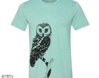 Mens URBAN OWL t shirt s m l xl xxl (+ Color Options)