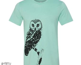Mens URBAN OWL t shirt s m l xl xxl (+ Color Options)