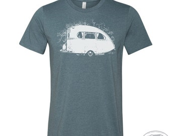 Men's VINTAGE CAMPER t shirt s m l xl xxl (+ Color Options)