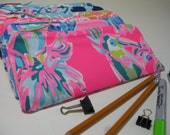Lilly Pulitzer Perfect Pencil Pouch,Zipper Pouch,Pencil Case, Preppy, (Toucan Can)