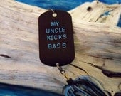 Stocking Stuffer Gift for Uncle Christmas Gift for Uncle Personalized Fishing Lure Keepsake for Uncle Men Gift for Him Gift Stocking Stuffer