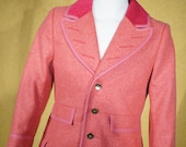 Harris Tweed Frock Overcoat
