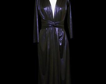 Lynne Draped Jersey Maxi Dress - Made to Order - FREE SHIPPING WORLDWIDE