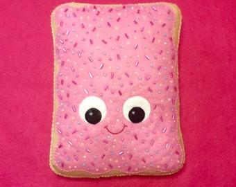 Pop Tart Plush - Kawaii Plush - Poptart - Cute Home Decor - Kawaii Plush - Kawaii Decor - Junk Food Plush - Kawaii Decor