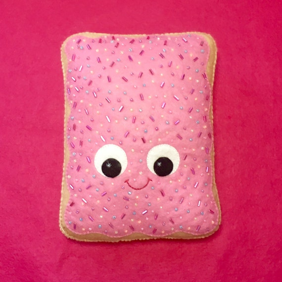 pop tart plush kawaii plush poptart cute home decor