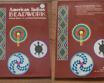 vintage 1951/73 pattern book American Indian Beadwork