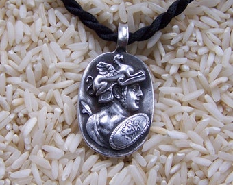 Perseus Sterling Silver Pendant