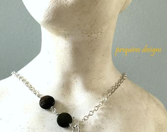 Be Daring sterling silver pendant necklace