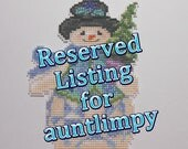 Reserved Listing for auntlimpy - One Jim Shore Evergreen Snowman