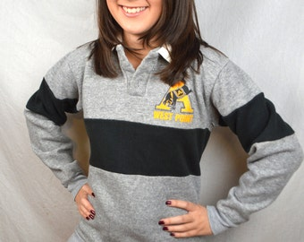 Vintage 1980s Super Soft Gray Comfy Sweatshirt - West Point