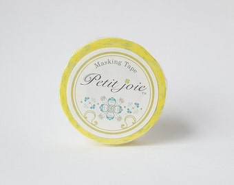 Lemon Pattern Washi Masking Tape