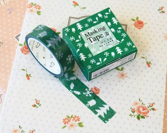 07 Cute Christmas Cardlover Cartoon washi masking tape