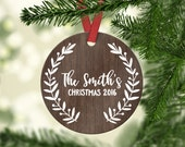 Personalized Christmas Ornaments Christmas Tree Ornament Wedding Ornament Christmas Ornaments Wedding First Christmas Ornament Married