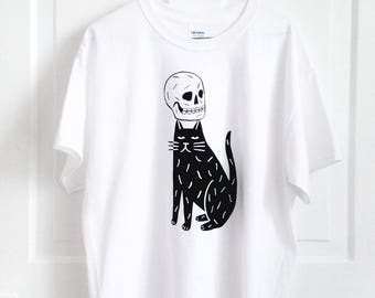 Skull Cap - Screenprinted T-Shirt