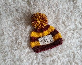 Personalized newborn hat,newborn hat,newborn coming home hat,newborn name hat,monogram newborn hat,personalized baby gifts,newborn props