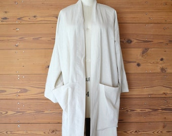 Handmade Japanese Style Linen Robe