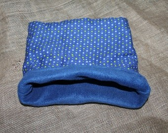 Medium Polka Dot Pouch for small pocket pets.