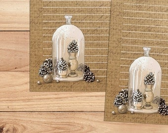 The Pine Jar - A5 Stationery - 12, 24 or 48 sheets
