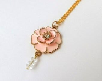 Long Gold Necklace, Long Gold Pendant Necklace, Extra Long Necklace with Pendant, Long Necklace Gold Long Necklace, Long Necklace Pendant