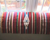 Vintage Wool Mexican Rug /Wall Hanging/Table Runner