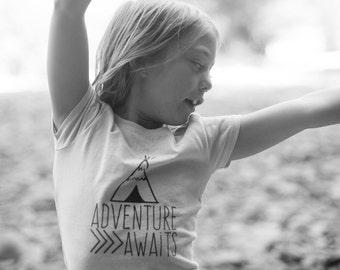Adventure Awaits Youth Shirt