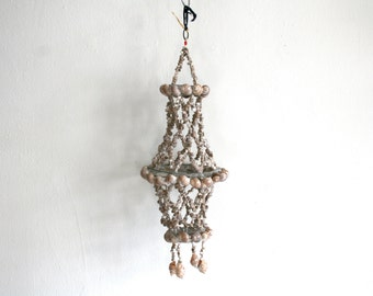 Tiger Snail Shell Hanging Mobile