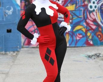 Classic Harley Quinn costume replica