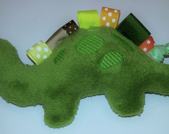 Dinosaur Stuffed Taggie Teether - Free Shipping