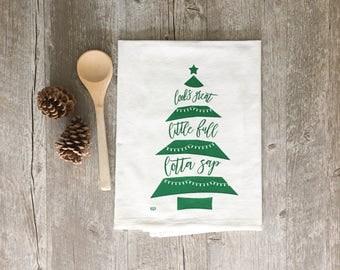 Christmas Tea Towel - Christmas Vacation Tea Towel Looks Great Little Full Lotta Sap Kitchen Towel Christmas Tea Towel Christmas Hostess