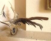 Great Blue Heron Driftwood Sculpture The Beauty of Flight