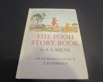 The Pooh Story Book by A. A. Milne Illustrated by E.H. Shepard  1965
