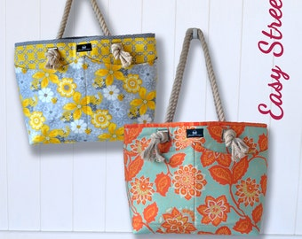 Abby's Alley Tote Sew & Sell Easy Street Pattern by ChrisW Designs