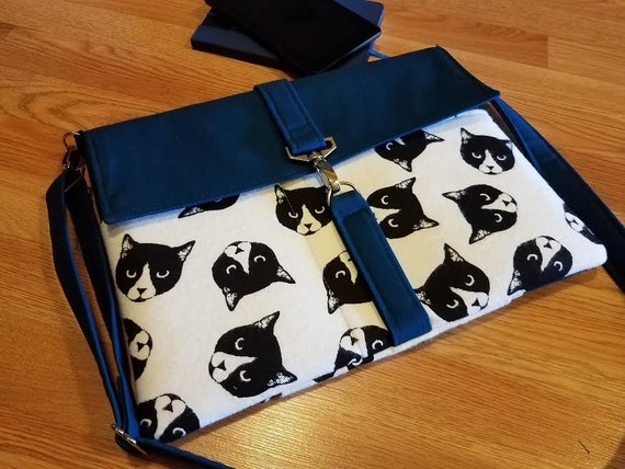 Laptop bag-Macbook,MS SurfacePro,LenovoYoga,Sumsung chromebook,Acer, Hp,ASUS-padded-POCKETS-Mad Cats