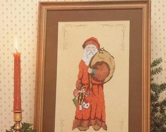Cross Stitch Pattern OLD RICKLEY Saint To Claus Series Santa Claus - MaJor Presentations Joretta Headlee