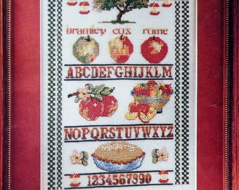 Cross Stitch Pattern   APPLE SAMPLER   Diana Ison   Apple Pie   fam
