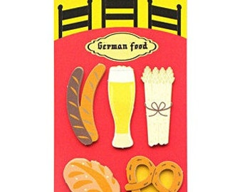 German food Sticky Notes / Memo Sticker / Post-it