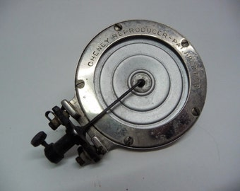 Vintage Cheney Reproducer for Disc Phonogragh