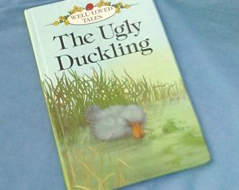 The Ugly Duckling - Vintage Ladybird Book Series 606D Well- loved Tales - 1980s Glossy Covers