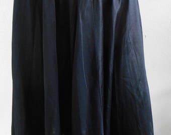 Vintage Half Slip Black Lace